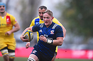 USA player Hanco Germishuys on the run in the second half during the November Test match between Romania and USA at Ghencea Stadium, Bucharest, Romania on 17 November 2018.