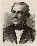 Antoine Alexandre Brutus Bussy (1794-1882) French chemist, physician and pharmacist, born at Marseilles. In 1828, independently of Wohler, Bussy isolated the element beryllium.  Engraving from 'Les Merveilles de la Science' by Louis Figuier (Paris, c1870)
