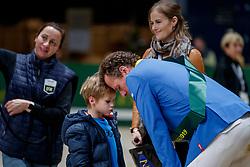 AHLMANN Christian (GER), AHLMANN Lion<br /> Genf - CHI Geneve Rolex Grand Slam 2019<br /> Impressionen am Abreiteplatz<br /> ROLEX Top 10 Finale<br /> 19th Rolex IJRC Top 10 Final<br /> International Jumping Competition 1m60<br /> Table A: Two Rounds, 1st and 2nd Round Against the Clock<br /> 13. Dezember 2019<br /> © www.sportfotos-lafrentz.de/Stefan Lafrentz