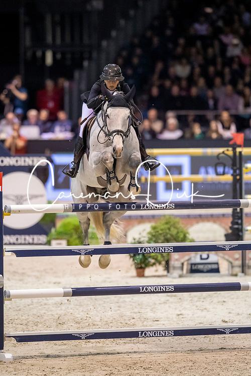 Leprevost Penelope, FRA, GFE Excalibur dela Tour Vidal<br /> Jumping International de Bordeaux 2020<br /> © Hippo Foto - Dirk Caremans<br />  08/02/2020