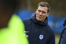November 26, 2019, Genk, UNITED KINGDOM: Genk's head coach Hannes Wolf pictured during a training session of Belgian soccer team KRC Genk, Tuesday 26 November 2019 in Genk, in preparation of tomorrow's match against Austrian club RB Salzburg in the group stage of the UEFA Champions League. BELGA PHOTO YORICK JANSENS (Credit Image: © Yorick Jansens/Belga via ZUMA Press)