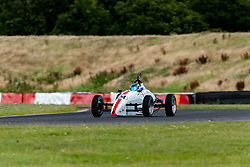 Rik Lanyi pictured competing in the 750 Motor Club's Formula Vee Championship. Image captured at Snetterton on July 18, 2020 by 750 Motor Club's photographer Jonathan Elsey