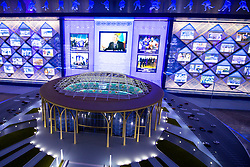 Model of Barys Arena in Sports Museum one day before at IIHF World Championship DIV. I Group A Kazakhstan 2019, on April 28, 2019 in Barys Arena, Nur-Sultan, Kazakhstan. Photo by Matic Klansek Velej / Sportida