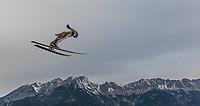 BILDET INNGÅR IKEK I FASTAVTALER. ALL NEDLASTING BLIR FAKTURERT.<br /> <br /> Hopp<br /> Foto: imago/Digitalsport<br /> NORWAY ONLY<br /> <br /> Innsbruck 02.01.2016, Bergisel Schanze, Innsbruck, AUT, FIS Weltcup Ski Sprung, Vierschanzentournee, Training, im Bild Kenneth Gangnes (NOR) // Kenneth Gangnes of Norway during his Practice Jump for the Four Hills Tournament of FIS Ski jumping Skispringen Ski nordisch World Cup at the Bergisel Schanze, Innsbruck, Austria on 2016/01/02.