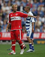 Photo: Lee Earle.<br /> Reading v Middlesbrough. The Barclays Premiership. 19/08/2006. Middlesbrough's Gaizka Mendieta.