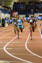NSAF 2014 New Balance Nationals Indoor, girls 4x200 relay, New Rochelle wins