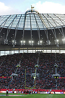 American Football - 2019 NFL Season (NFL International Series, London Games) - Tampa Bay Buccaneers vs. Carolina Panthers<br /> <br /> The Cockerel of Spurs above the stand, at Tottenham Hotspur Stadium.<br /> <br /> COLORSPORT/ANDREW COWIE