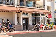 Bear Coast Coffee Shop Downtown San Clemente in the Pier Bowl