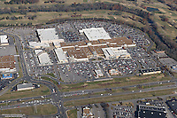 Aerial photo of the Stones River Mall on Old Fort Parkway in Murfreesboro Tennessee on Black Friday.