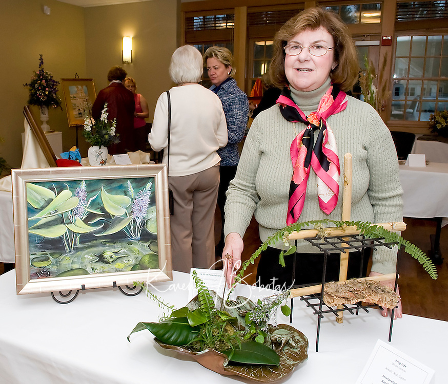 Art 'n Bloom 2010 presented by Opechee Garden Club at the Gilford Public Library March 25, 2010.