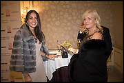NINA DARZI;  LADY DARZI , The Old Russian New Year's Eve Gala. In aid of the Gift of Life foundation. Savoy Hotel, London. 13 January 2015.