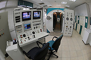 Control Panel of a decompression chamber