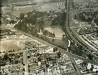 1926 Aerial view of Selig Zoo Studios