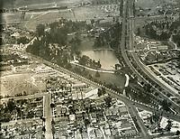 1926 Aerial view of Selig Zoo Studios