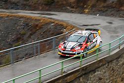 17.01.2014, Sisteron, FRA, FIA, WRC, Monte Carlo, 2. Tag, im Bild MELICHAREK Jaroslav / MELICHAREK Erik ( Slovakia World Rallye Team (SVK) / FORD FIESTA RS ) during day two of FIA Rallye Monte Carlo held near Monte Carlo, France on 2014/01/17. EXPA Pictures © 2014, PhotoCredit: EXPA/ Eibner-Pressefoto/ Neis<br /> <br /> *****ATTENTION - OUT of GER*****