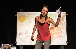 Memories of a Lullaby - the need to remember and the wish to forget - is a one-woman show by Saras Feijoo about a true story growing up in Venezuela. It draws from multiple stories in order to reveal the constant tension between horror and beauty, desperation and hope.<br /> <br /> This piece explores how socio-political conditions shape us as individuals, while attempting to give a perspective on how reality differs greatly depending on where we are born and raised.<br /> <br /> This performance is a hard-hitting exposition of existence combining storytelling, physical theatre with visual art elements to give a full-on, yet tender performance by a performer with first-hand experience of the events she portrays.<br /> <br /> The show will be performed as part of Refugee Festival Scotland on 15 – 16 June at the Scottish Storytelling Centre, Edinburgh; 17 June at Borders Book Festival, Melrose; and Centre for Contemporary Arts, Glasgow on 18 June.