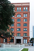 The Texas School Book Depository building where the fatal shots were fired by Lee Harvey Oswald when he assassinated President Kennedy in Dallas, Texas Missoula Photographer