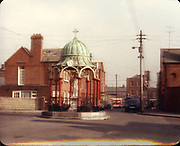 Old Dublin Amature Photos March 1984 WITH, Butchers shop, Parkgate st, Harrolds Cross, Terenure Alleyways, Reginald St, Long Mile Rd, Church, Blessed virgin statue the liberties,