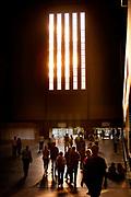 The Turbine Hall, Tate Modern art gallery.