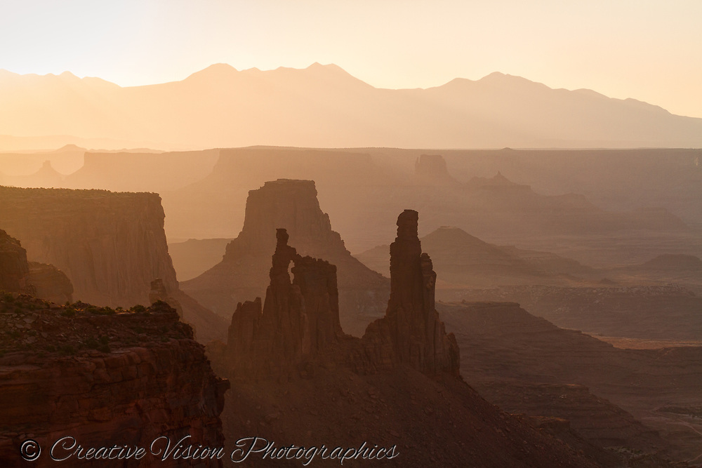 Washer Woman Arch at sunrise