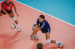 05-10-2002 ARG: World Champioships Netherlands - Czech Republic, Santa Fe<br /> Reinder Nummerdor<br /> NEDERLAND - TSJECHIE 3-2<br /> WORLD CHAMPIONSHIP VOLLEYBALL 2002 ARGENTINA<br /> SANTA FE / 05-10-2002