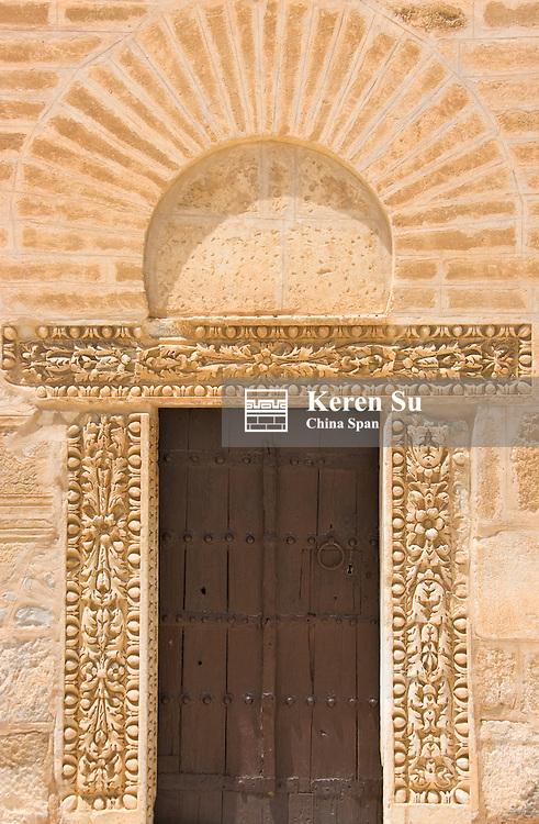 Great Mosque, Kairouan, UNESCO World Heritage site, Tunisia