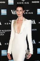 Erin O'Connor, Alexander McQueen: Savage Beauty Fashion Gala, Victoria & Albert Museum, London UK, 12 March 2015, Photo by Richard Goldschmidt