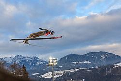 06.01.2016, Paul Ausserleitner Schanze, Bischofshofen, AUT, FIS Weltcup Ski Sprung, Vierschanzentournee, Bischofshofen, Probedurchgang, im Bild Joachim Hauer (NOR) // Joachim Hauer of Norway during his trial jump of the Four Hills Tournament of FIS Ski Jumping World Cup at the Paul Ausserleitner Schanze in Bischofshofen, Austria on 2016/01/06. EXPA Pictures © 2016, PhotoCredit: EXPA/ JFK