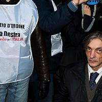 Manifestazione contro Cesare Battisti
