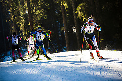 Adam Vaclavik (CZE) during the Men 20 km Individual Competition at day 1 of IBU Biathlon World Cup 2019/20 Pokljuka, on January 23, 2020 in Rudno polje, Pokljuka, Pokljuka, Slovenia. Photo by Peter Podobnik / Sportida