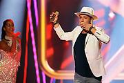 """Auftritt von Joël von Mutzenbecher anlässlich der Lip-Sync-Battles bei der SRF-Pop-Schlager-Show """"Hello Again"""". Aufzeichnung vom 01. Oktober 2020 in den Fernsehstudios Zürich."""