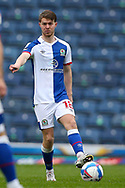 Blackburn Rovers midfielder Jacob Davenport (18) during the EFL Sky Bet Championship match between Blackburn Rovers and Birmingham City at Ewood Park, Blackburn, England on 8 May 2021.