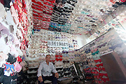 SANYA, CHINA - APRIL 22: (CHINA OUT) <br /> <br /> Man Collects 5000 Bras In 20 Years <br /> <br /> Chen Qingzu shows his collection of 5000 bras at his house on April 22, 2014, in Yacheng Town, Sanya City, Hainan Province of China. Chen Qingzu, a resident of Yachen town of Sanya city in Hainan Province, has collected more than 5000 bras in 20 years. All his collections come from students of over 30 colleges and universities. Chen's dream is to open a bra museum aims at calling for women's awareness on breast health. <br /> ©Exclusivepix