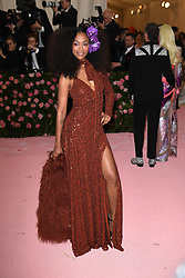 Zoe Saldana attends The 2019 Met Gala Celebrating Camp: Notes on Fashion at Metropolitan Museum of Art on May 06, 2019 in New York City.<br /> Photo by ABACAPRESS.COM