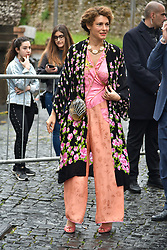 Rome, Gucci Parade at the Capitoline Museums. In the picture: Ginevra Elkann