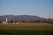 Ralph Rohrer's turkey farm in Dayton, Virginia