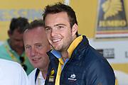 De Jumbo Racedagen, driven by Max Verstappen op Circuit Zandvoort. / The Jumbo Race Days, driven by Max Verstappen at Circuit Zandvoort.<br /> <br /> Op de foto / On the photo: Giedo van der Garde