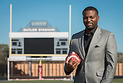 George Walker poses for a photograph at Butler Stadium, January 31, 2017.