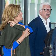 NLD/Amsterdam/20180516 - Koningspaar bij Red Ribbon Concert, Jan Slagter en ex vrouw Ingrid