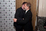 QUENTIN TARATINO; CHRISTOPHE WALTZ, The 30th London Critics' Circle Film Awards, held in aid of the NPSCC at the Landmark London Hotel. 18 February 2010.<br /> QUENTIN TARATINO; CHRISTOPHE WALTZ, The 30th London CriticsÕ Circle Film Awards, held in aid of the NPSCC at the Landmark London Hotel. 18 February 2010.