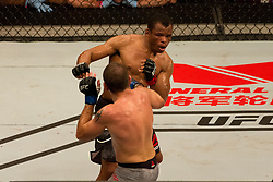 October 29, 2017 - Brazil - SAO PAULO, SP - 29.10.2017: UFC FIGHT NIGHT - Lightweight Jim Miller faces Francisco Trinaldo (Massaranduba) during UFC Fight Night - Brunson vs. Machida at the Ibirapuera Gym in Sao Paulo  (Credit Image: © Fotoarena via ZUMA Press)