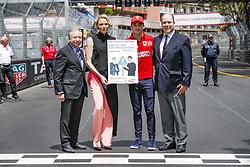 May 26, 2019 - Monte Carlo, Monaco - Motorsports: FIA Formula One World Championship 2019, Grand Prix of Monaco, ..Jean Todt (FRA, FIA President),  Princess Charlene of Monaco, #16 Charles Leclerc (MCO, Scuderia Ferrari Mission Winnow), Prince Albert II of Monaco  (Credit Image: © Hoch Zwei via ZUMA Wire)