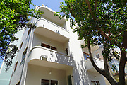 Bauhaus Architecture Residential building Designed in 1932 by Engineer Shlomo Penrov at 63 Nachmani, Tel Aviv White City. The White City refers to a collection of over 4,000 buildings built in the Bauhaus or International Style in Tel Aviv from the 1930s by German Jewish architects who emigrated to the British Mandate of Palestine after the rise of the Nazis. Tel Aviv has the largest number of buildings in the Bauhaus/International Style of any city in the world. Preservation, documentation, and exhibitions have brought attention to Tel Aviv's collection of 1930s architecture.