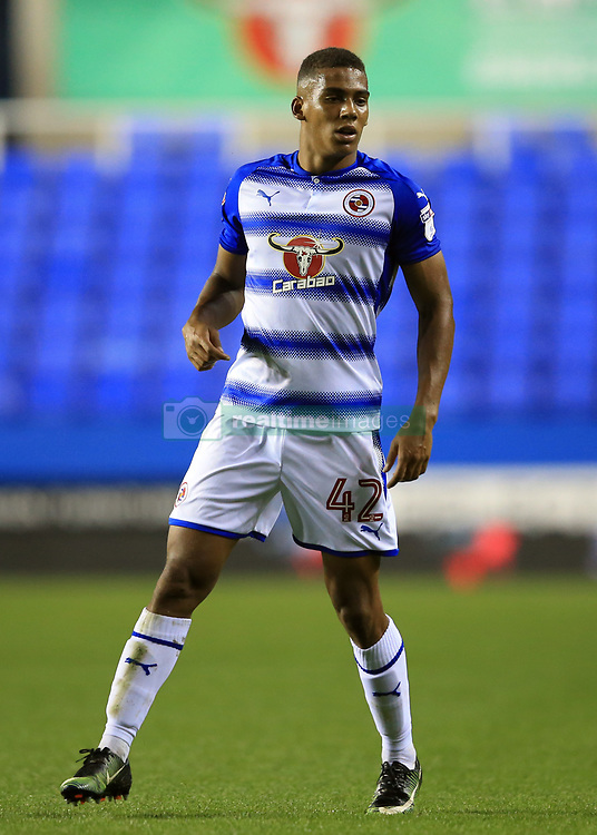 22 August 2017 -  EFL Cup Round Two - Reading v Millwall - Andy Rinomhota of Reading - Photo: Marc Atkins/Offside
