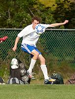 Boys varsity soccer Gilford versus Prospect Mountain September 17, 2010.