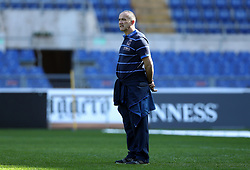 February 8, 2019 - Rome, Italy - Italy captain's run - Rugby Guinness Six Nations .Italy rugby team training captain's run in view of the match versus Wales. Head coach Conor O'Shea at Olimpico Stadium in Rome, Italy on February 8, 2019. (Credit Image: © Matteo Ciambelli/NurPhoto via ZUMA Press)