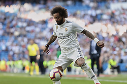 March 16, 2019 - Madrid, Madrid, Spain - Real Madrid's Marcelo Vieira seen in action during La Liga match between Real Madrid and Real Club Celta de Vigo at Santiago Bernabeu Stadium in Madrid, Spain. (Credit Image: © Legan P. Mace/SOPA Images via ZUMA Wire)