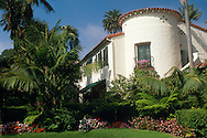 Mediteranean architecture at the Four Seasons Biltmore Hotel in Santa Barbara, California