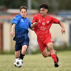 7th March 2021 - NPL Queensland u15 RD1: Olympic FC v SWQ Thunder