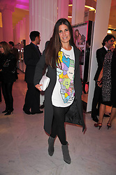 ELIZABETH SALTZMAN at the launch of Project PEP to benefit the Elton John Aids Foundation hosted by Tamara Mellon and Diana Jenkins in association with Jimmy Choo held at Selfridges, Oxford Street, London on 29th October 2009.